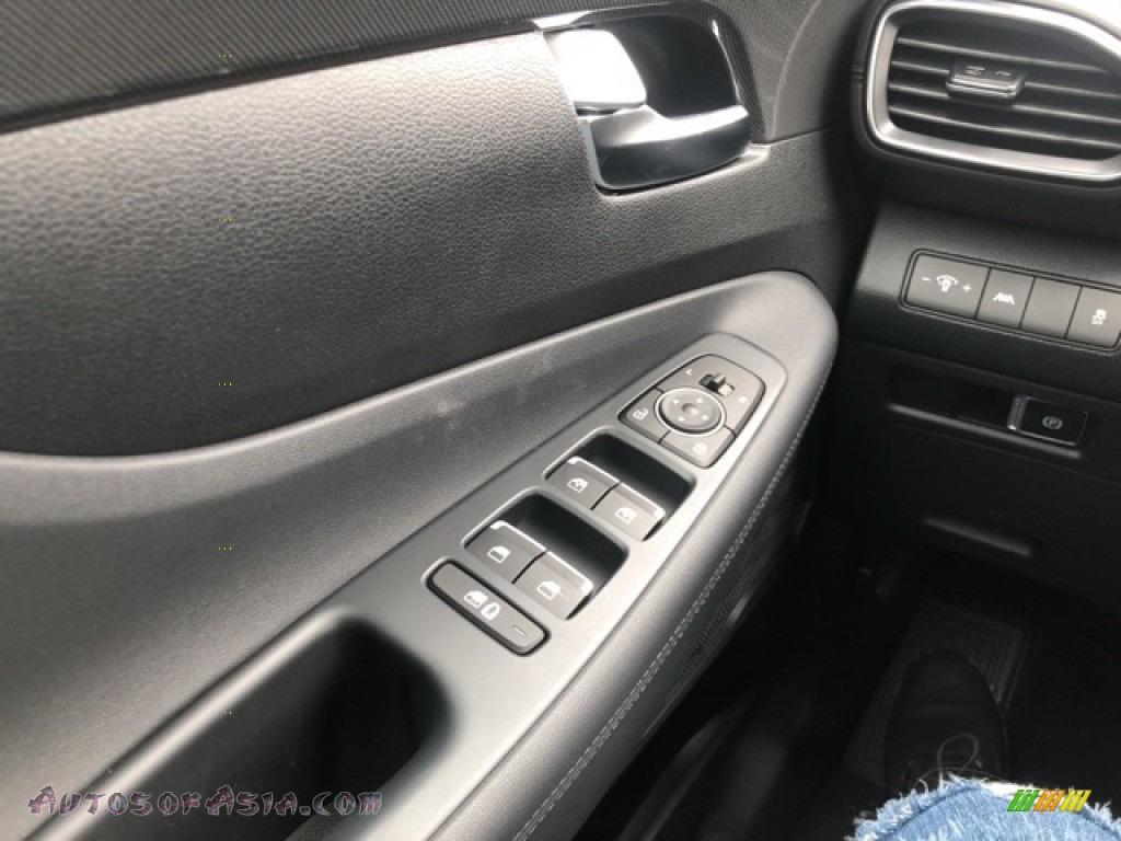 2021 Santa Fe SEL AWD - Quartz White / Black photo #13