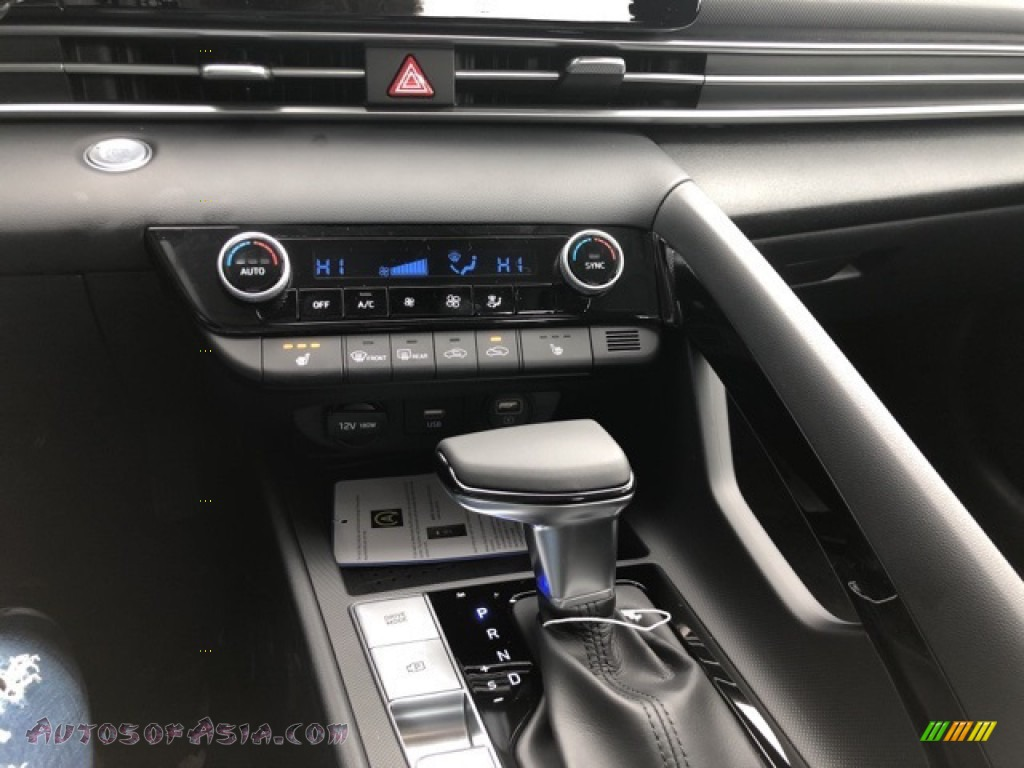 2021 Elantra SEL - Shimmering Silver Pearl / Black photo #8