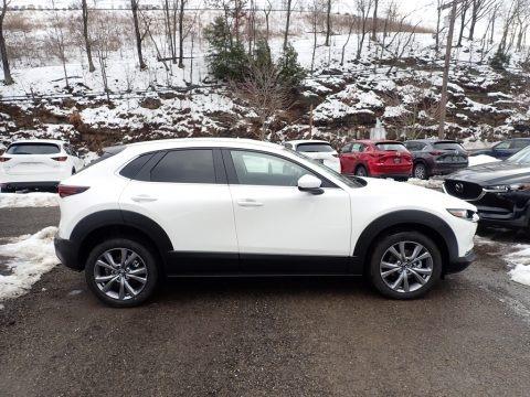 Snowflake White Pearl Mica 2021 Mazda CX-30 Select AWD