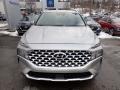 Hyundai Santa Fe SEL AWD Shimmering Silver photo #4