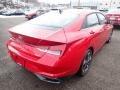 Hyundai Elantra Limited Scarlet Red Pearl photo #2