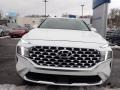 Hyundai Santa Fe SEL AWD Quartz White photo #4