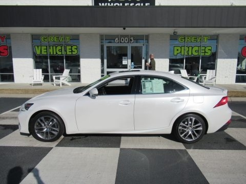 Eminent White Pearl 2020 Lexus IS 300
