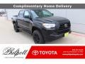 Toyota Tacoma SR Double Cab Midnight Black Metallic photo #1