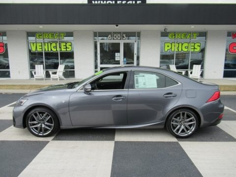 Nebula Gray Pearl 2020 Lexus IS 300 F Sport