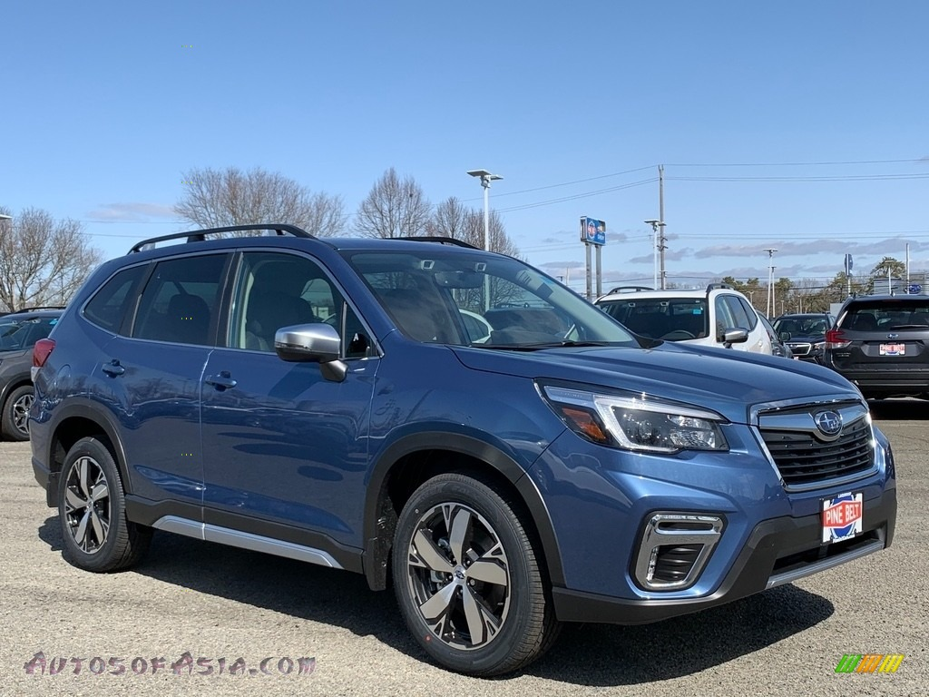 2021 Forester 2.5i Touring - Dark Blue Pearl / Black photo #1