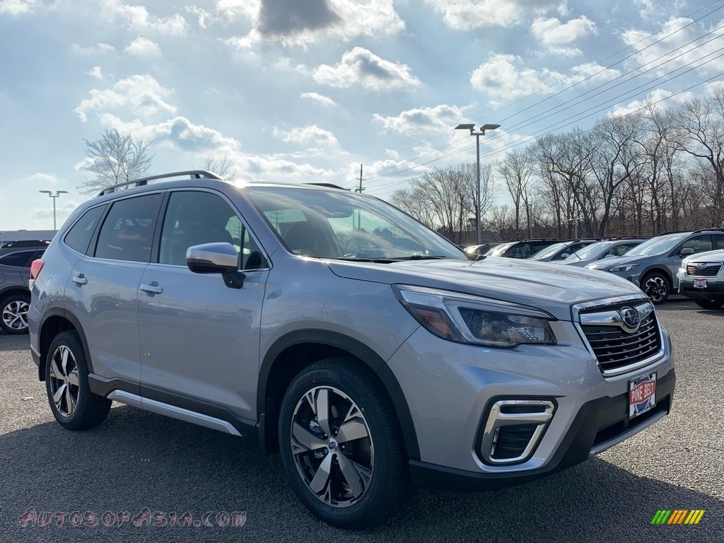 2021 Forester 2.5i Touring - Ice Silver Metallic / Gray photo #1