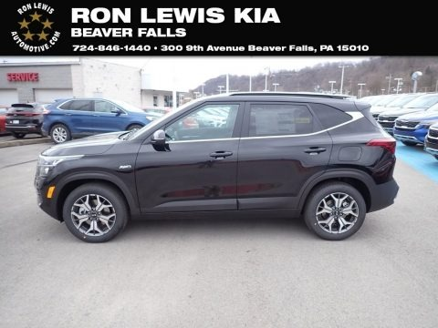 Black Cherry 2021 Kia Seltos EX AWD
