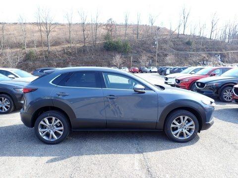 Machine Gray Metallic 2021 Mazda CX-30 Premium AWD