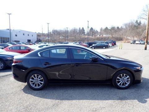 Jet Black Mica 2021 Mazda Mazda3 2.5 S Sedan