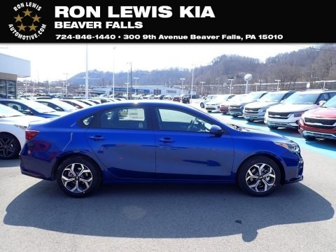 Deep Sea Blue 2021 Kia Forte LXS
