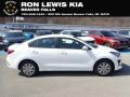 Kia Rio LX Clear White photo #1