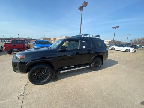 Midnight Black Metallic 2021 Toyota 4Runner Venture 4x4