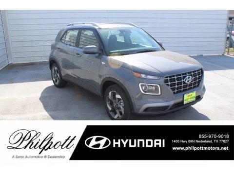 Galactic Gray 2021 Hyundai Venue SEL