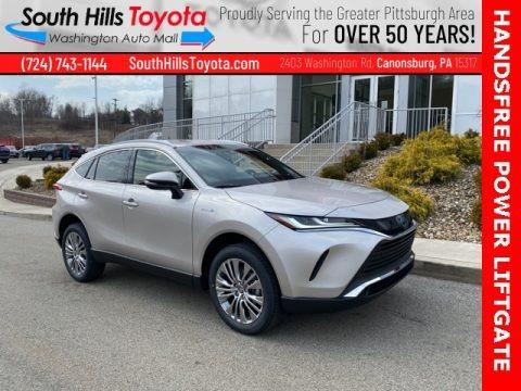 Coastal Gray Metallic 2021 Toyota Venza Hybrid XLE AWD