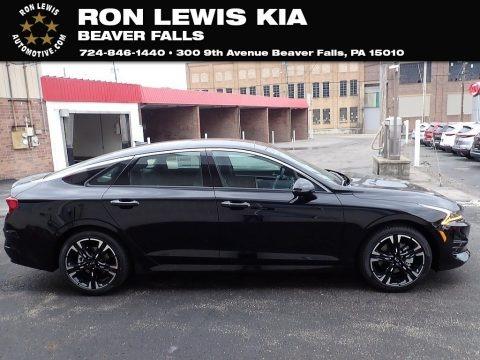Ebony Black 2021 Kia K5 GT-Line