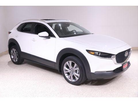 Snowflake White Pearl Mica 2020 Mazda CX-30 Premium AWD