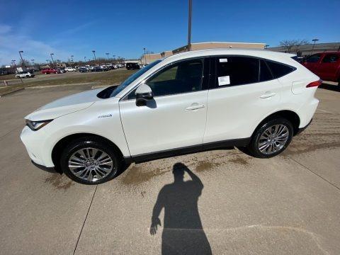 Blizzard White Pearl 2021 Toyota Venza Hybrid XLE AWD