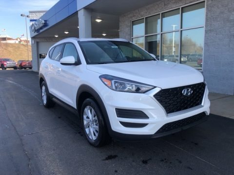 Winter White 2021 Hyundai Tucson Value AWD