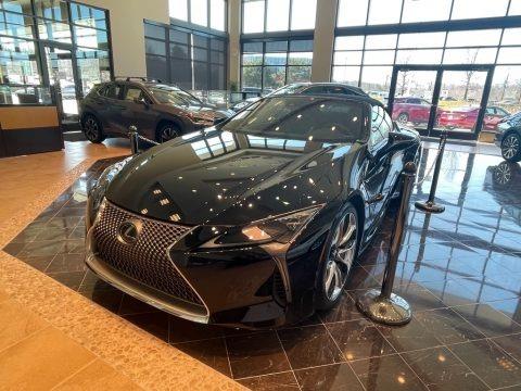 Obsidian 2021 Lexus LC 500 Convertible