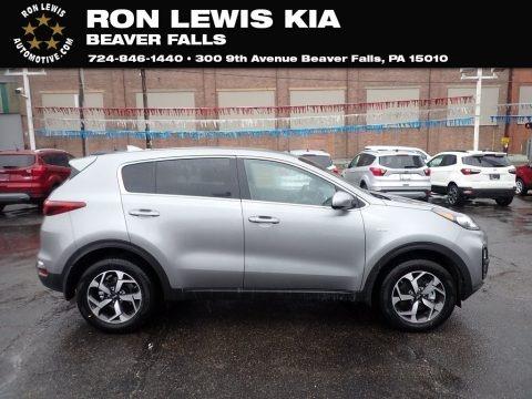Steel Gray 2021 Kia Sportage LX AWD