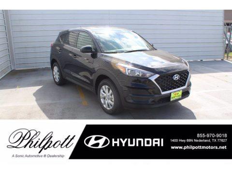 Black Noir Pearl 2021 Hyundai Tucson SE