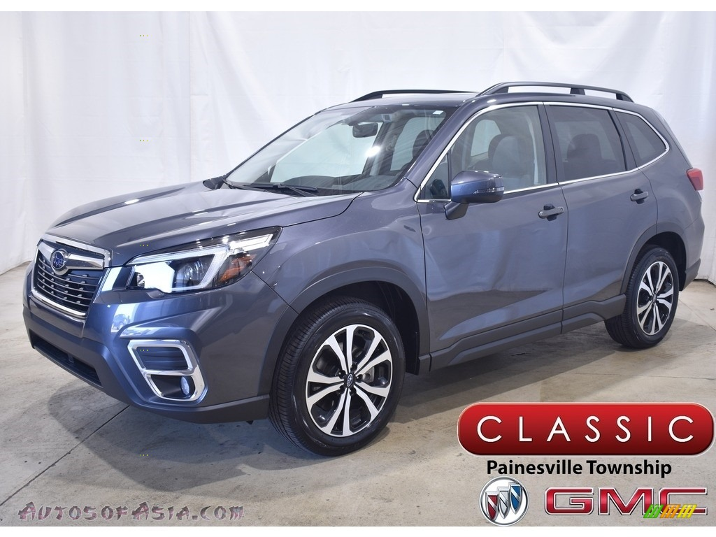 2021 Forester 2.5i Limited - Magnetite Gray Metallic / Black photo #1