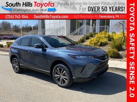 Coastal Gray Metallic 2021 Toyota Venza Hybrid LE AWD