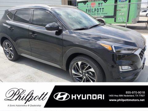 Black Noir Pearl 2021 Hyundai Tucson Sport