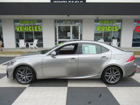 Atomic Silver 2020 Lexus IS 350 F Sport