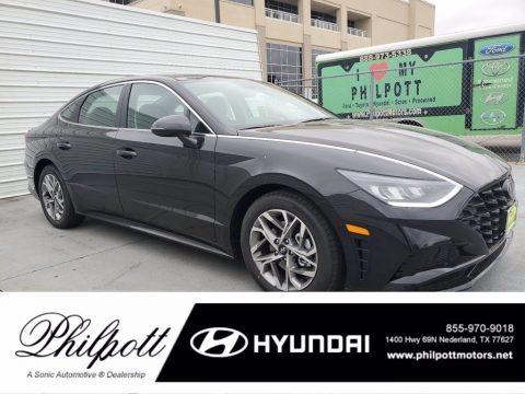 Phantom Black 2021 Hyundai Sonata SEL