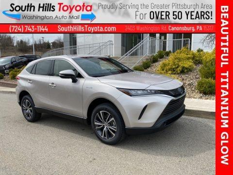 Titanium Glow 2021 Toyota Venza Hybrid LE AWD