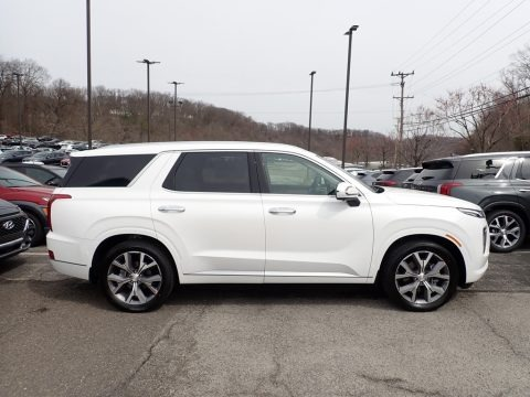 Hyper White 2021 Hyundai Palisade Limited AWD
