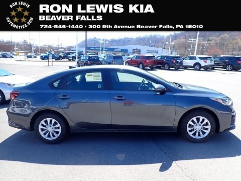 Gravity Gray 2021 Kia Forte FE