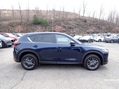 Deep Crystal Blue Mica 2021 Mazda CX-5 Touring AWD