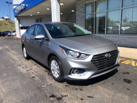 Forge Gray 2021 Hyundai Accent SEL