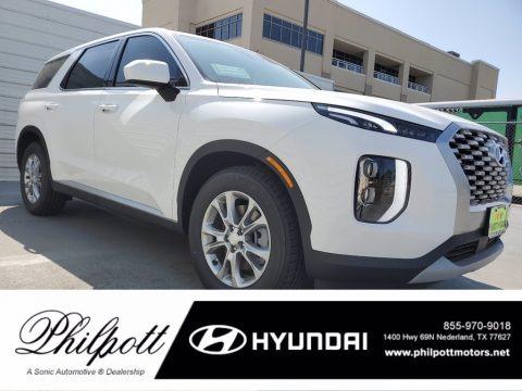 Hyper White 2021 Hyundai Palisade SE