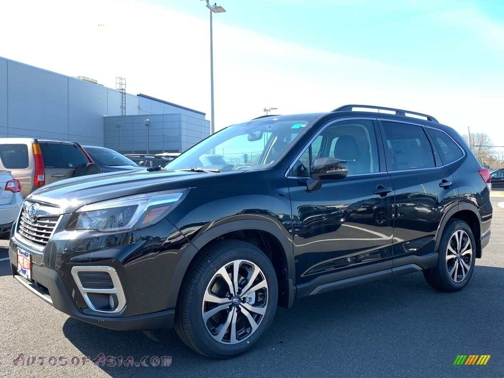 2021 Forester 2.5i Limited - Crystal Black Silica / Black photo #1