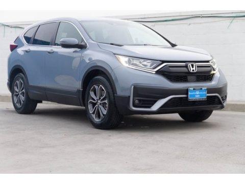 Sonic Gray Pearl 2021 Honda CR-V EX-L