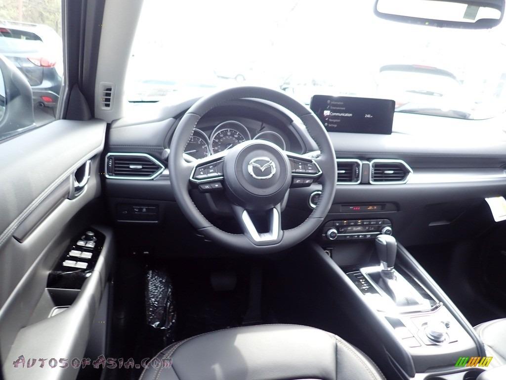 2021 CX-5 Touring AWD - Eternal Blue Mica / Black photo #9
