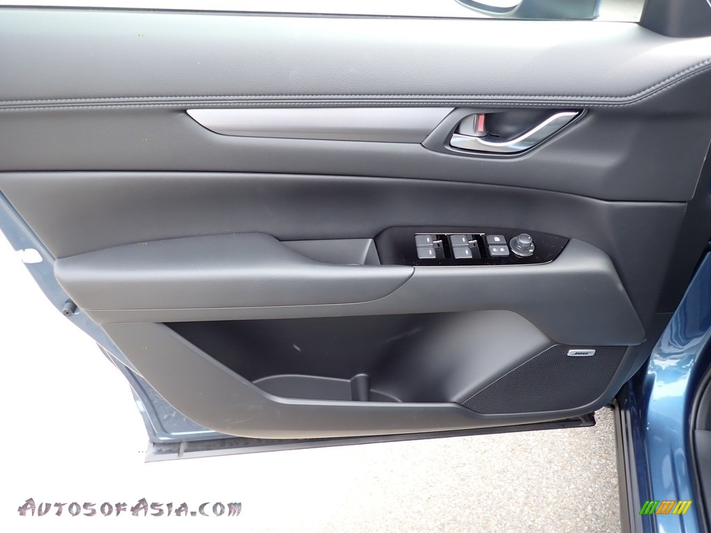 2021 CX-5 Touring AWD - Eternal Blue Mica / Black photo #11