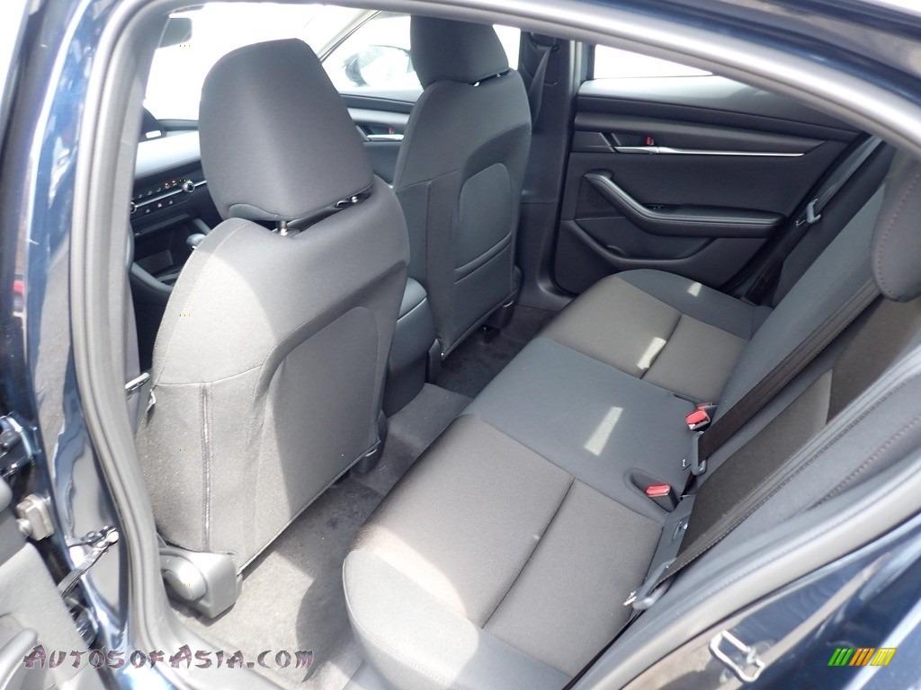 2021 Mazda3 2.5 S Sedan - Deep Crystal Blue Mica / Black photo #8