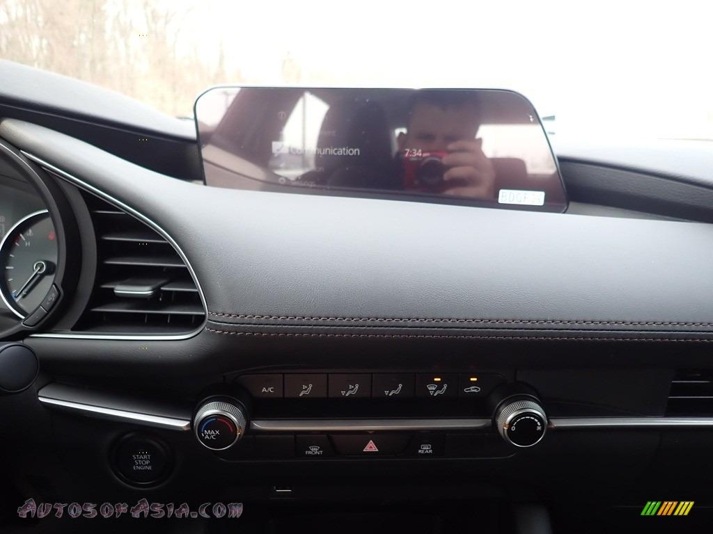 2021 Mazda3 2.5 S Sedan - Deep Crystal Blue Mica / Black photo #13
