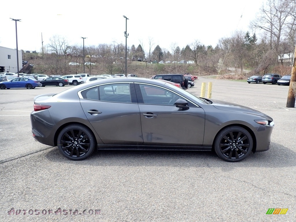 2021 Mazda3 Premium Plus Sedan AWD - Machine Gray Metallic / Black photo #1