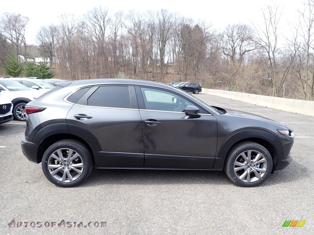 Machine Gray Metallic / Black Mazda CX-30 Preferred AWD