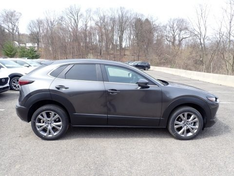 Machine Gray Metallic 2021 Mazda CX-30 Preferred AWD