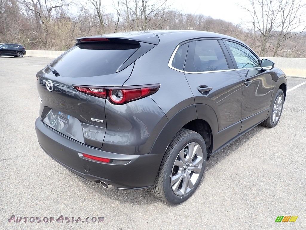 2021 CX-30 Preferred AWD - Machine Gray Metallic / Black photo #2