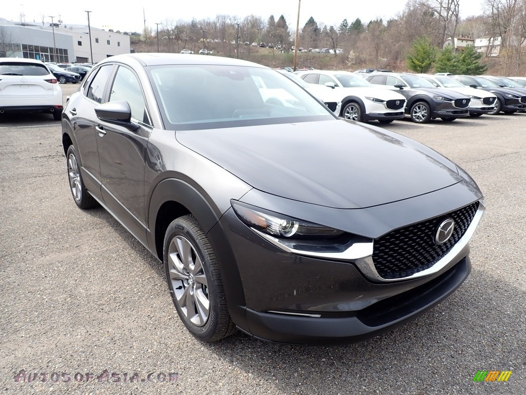 2021 CX-30 Preferred AWD - Machine Gray Metallic / Black photo #3