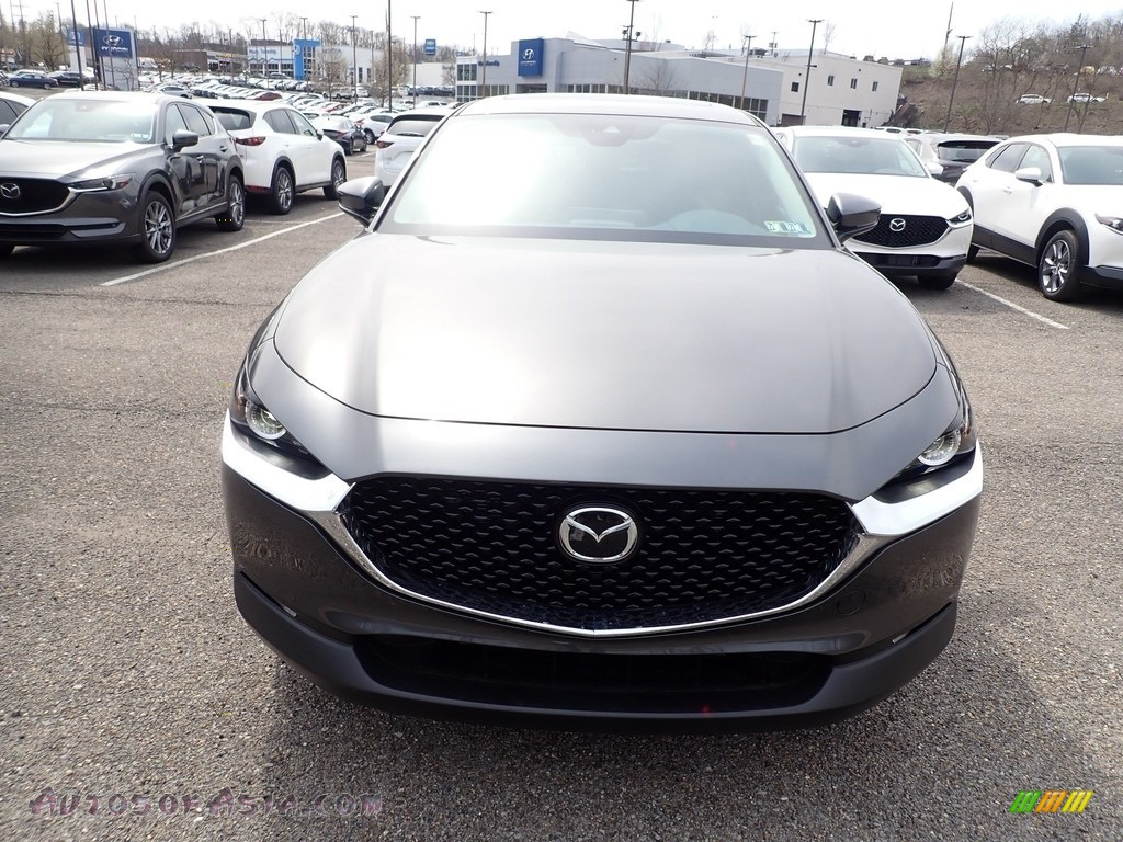 2021 CX-30 Preferred AWD - Machine Gray Metallic / Black photo #4