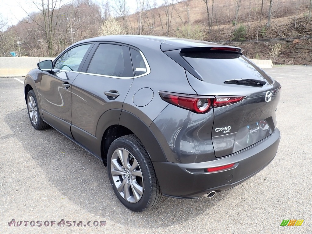 2021 CX-30 Preferred AWD - Machine Gray Metallic / Black photo #6